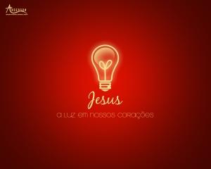 E a luz de Deus que nos conduz ao mundo